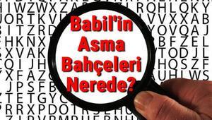 Babilin Asma Bahçeleri Nerede ve gerçek mi Babilin Asma Bahçeleri hikayesi ve hakkında kısa bilgi