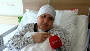 Kazada ikiye ayrılan yüzü, 10 saatlik ameliyatla birleştirildi