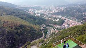 Batı Karadenizin yeni gözdesi orman denizi manzaralı Ihlamur Teras