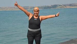 Manş Denizi'ni geçen ilk Türk kadını: Açık deniz parkurlarında yüzün