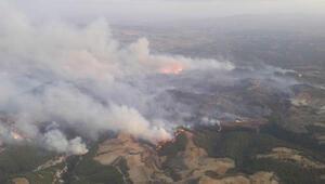 Manisadaki orman yangını 21 saatte kontrol altına alındı
