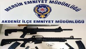 Mersinde çeşitli suçlardan aranan 58 şüpheli yakalandı