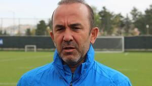 Mehmet Özdilek: Lige iyi başladık, iyi de bitirmek en büyük dileğimiz