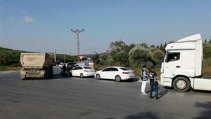 İstanbulda hafriyat kamyonlarına denetim