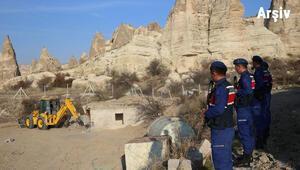 Nevşehir Valiliği'nden 'kaçak yapı' soruşturması