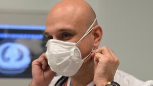 Koronavirüs Bilim Kurulu Üyesi, acil serviste koronavirüsten çift maske ile korunuyor