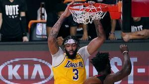 NBAde Gecenin Sonuçları | Final serisi ilk maç Lakersın Heate 2 şok...