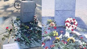 Kimin yaptırdığı bilinmiyor... Irkçılık ve polis şiddeti kurbanları için anıt