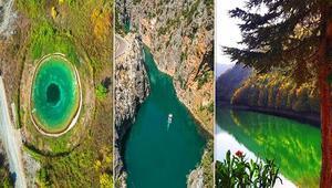 Türkiyenin varlığı pek fazla bilinmeyen cennet köşeleri Bu 15 adresi ilk kez duyacaksınız, hepsi birbirinden güzel...
