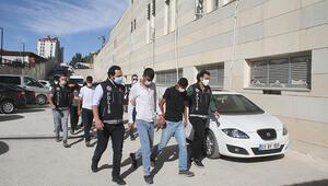 Elazığda torbacılara şafak operasyonu: 7 gözaltı