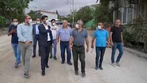Başkan Karagöl, çalışmaları yerinde inceledi