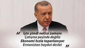Son dakika… Cumhurbaşkanı Erdoğan'dan TBMMnin açılışında flaş mesajlar AYM ve idam sorusuna cevap
