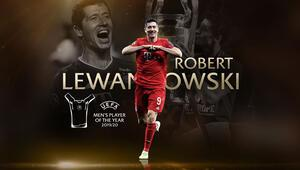 Son Dakika | UEFA yılın futbolcusu ödülü Robert Lewandowskinin oldu