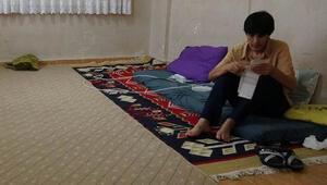 Eşyasız evde 3 çocuğuyla yalnız yaşayan Gültepe, oğlunun tedavisi için yardım istedi
