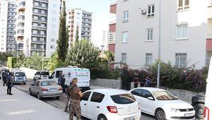 Ev bastılar, Seheri yangın merdiveninde öldürdü