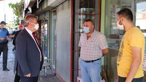 Başkan Palancıoğlu'ndan 'koronavirüs' denetimi
