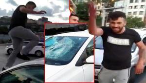 Trafikte tartıştığı kadına dehşeti yaşatmıştı İlk duruşmada tahliye...