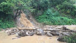 Rizede şiddetli yağış Derelerde su seviyesi yükseldi, yetkililerden uzak durun çağrısı