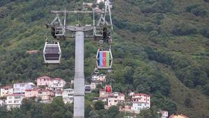 Ordu'dan Azerbaycan'a destek