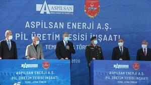 Türkiyenin ilk lityum iyon pil üretim tesisinin temeli Kayseride atıldı