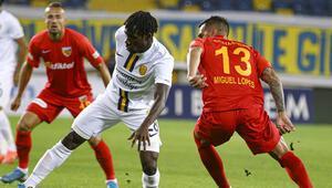 MKE Ankaragücü 0-1 Kayserispor (Maç özeti ve golleri)