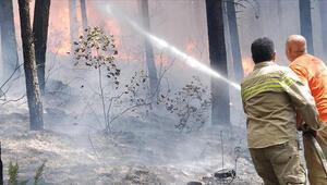 Son dakika haber... Aydos Ormanındaki yangın kontrol altında