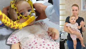 Adanada SMA hastası 9 aylık Sofia Deniz yardım bekliyor