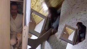 FETÖ şüphelileri hücre evde gizli bölmede yakalandı