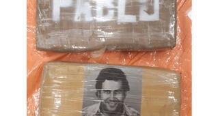 Hollandada Pablo Escobar ambalajlı yüzlerce kilo kokain ele geçirildi