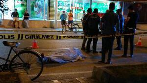 Köpekten kaçan bisikletli düşüp, başını refüje çarparak öldü