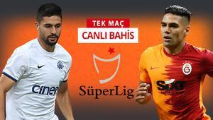 Avrupadan elenen Galatasaray, lige konsantre Kasımpaşa karşısında galibiyetlerine iddaada...