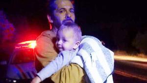 Bebek koltuğu kurtardı, annesi yaralı