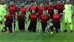 Ampute Milli Futbol Takımının gözü dünya şampiyonluğunda