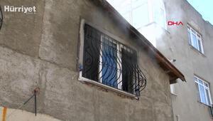 Ataşehirde yangın paniği... Anne ve 2 çocuğunu mahalle sakinleri kurtardı