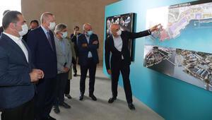Son dakika... Cumhurbaşkanı Erdoğan Kasımpaşada incelemelerde bulundu