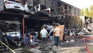 Son dakika... İstanbulda korkutan yangın Hepsi küle döndü