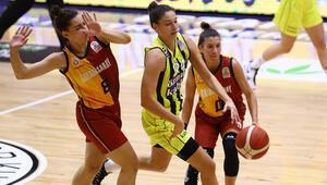 Kadınlar Basketbol Süper Ligi | Fenerbahçe Öznur Kablo: 64 - Galatasaray: 61