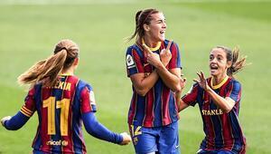 Kadınlar futbolunda bir ilk El Clasiconun galibi Barcelona...