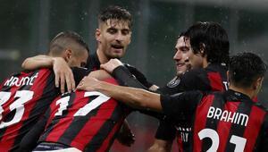 Milan, Speziayı ikinci yarıda bulduğu gollerle yendi