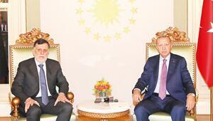 Erdoğan Serrac'la görüştü