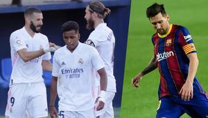La Ligada Real Madrid kazandı, Barcelona puan kaybetti