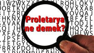 Proletarya ne demek Proletarya diktatörlüğü ve devrimi nedir