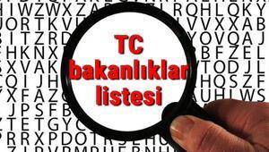 Türkiye Cumhuriyeti bakanlıklar listesi, görevleri ve yetkileri