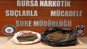 Bursada uyuşturucu operasyonu: 6 kilo esrar ele geçirildi