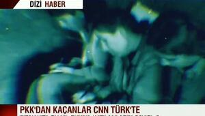 PKK'dan kaçanlar CNN TÜRK'e konuştu