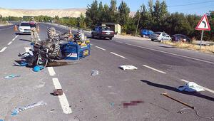 Çapa motoru devrildi: 1 ölü, 2 yaralı