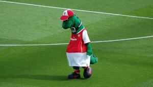 Arsenal, maskotunu işten çıkardı Yılda 30 bin sterlin kazanıyordu...