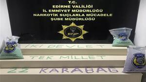 Kapıkule'de 212 bin uyuşturucu hap ele geçirildi