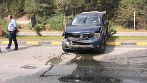 Karabükte trafik kazası: 2 yaralı