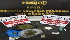 Denizli'deki uyuşturucu operasyonlarında 9 tutuklama